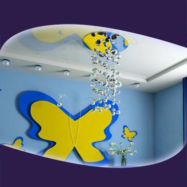 Детски стаи с опънати тавани