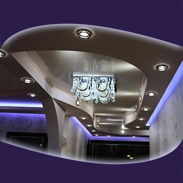 Коридори с опънати тавани