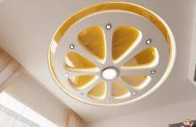 Дизайнерски идеи за опънати тавани