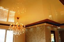 Комбиниране между опънат таван и гипсокартон